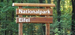 Nationalpark Eifel Schild